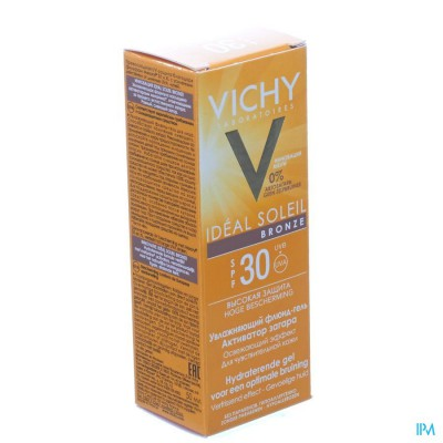 VICHY CAP IDEAL SOLEIL IP30 BRONZE GEL 50ML