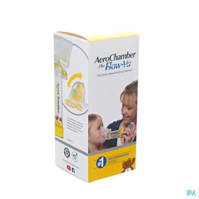 AEROCHAMBER PLUS A/STATIC+FLOW-VU-MASK CHILD