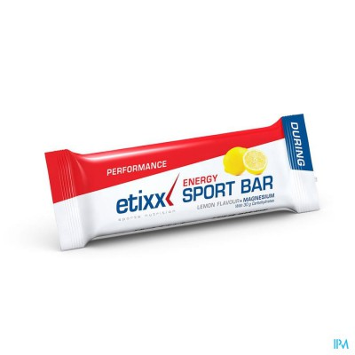 ETIXX ENERGY SPORT BAR LEMON 1X40G