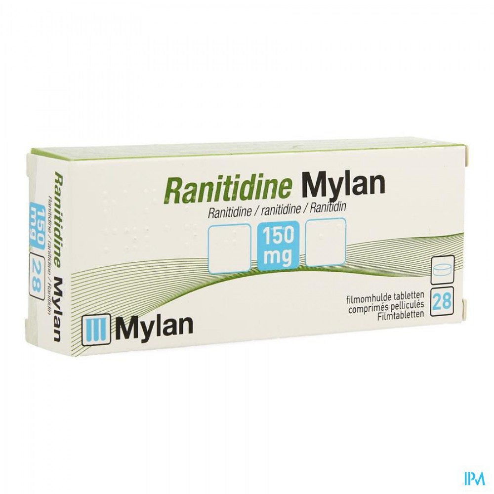 Image result for RANITIDINE/MYLAN