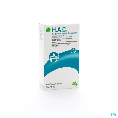 HAC ANTISEPT. CONCENT. 250ML
