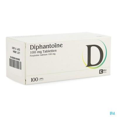 DIPHANTOINE 100MG COMP 100
