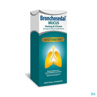 BRONCHOSEDAL MUCUS HONING CITROEN 300 ML 20 MG/ML