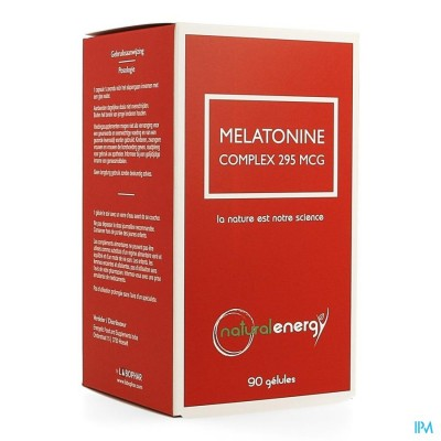 NATURAL ENERGY MELATONINE COMPLEX CAPS 90