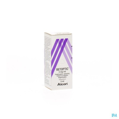 BETOPTIC COLLYRE 5ML 0,5%