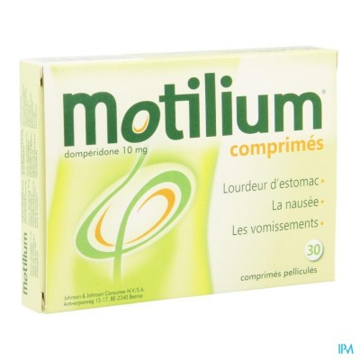 MOTILIUM COMP 30 X 10 MG IMPEXECO PIP
