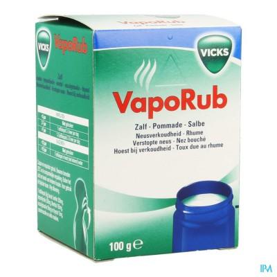 VICKS VAPORUB POMMADE/ ZALF 100G