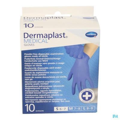 DERMAPLAST MEDICAL GLOVES NON STERIL 10 S