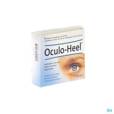 OCULO-HEEL OOGDRUPPELS FIOL 15 X 0,45ML HEEL