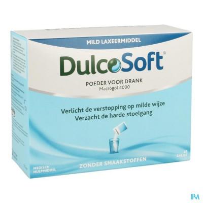DULCOSOFT PDR ZAKJE 20X10G
