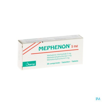 MEPHENON BLISTER 3 X 10 COMP X 5 MG