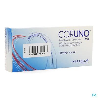 CORUNO COMP RETARD 42 X 16 MG