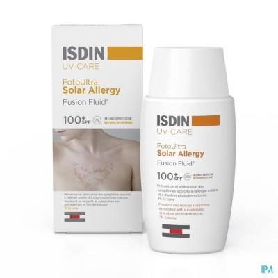 ISDIN FOTO ULTRA SOLAR ALLERGY IP100+ 50ML