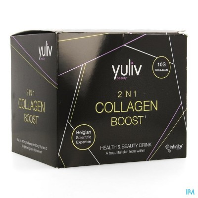 YULIV 2IN1 COLLAGEN BOOST AMP 30X25ML