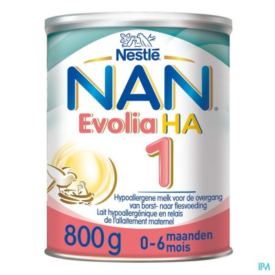 NAN OPTIPRO EVOLIA HA 1 800G