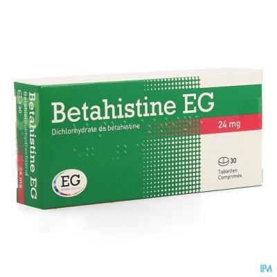 BETAHISTINE EG COMP 30 X 24 MG