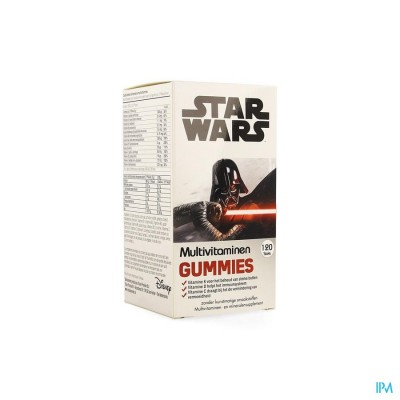 DISNEY MULTIVITAMINEN STAR WARS GUMMIES 120