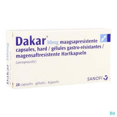 DAKAR CAPS 28X30MG