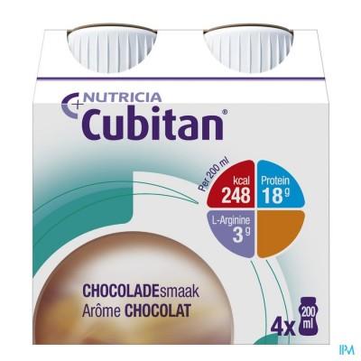 CUBITAN CHOCO 4X200ML