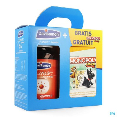 DAVITAMON JUNIOR GUMMIES 60 GIFTBOX