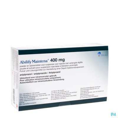 ABILIFY MAINTENA 1 FL 400 MG+ 1 FL 2 ML