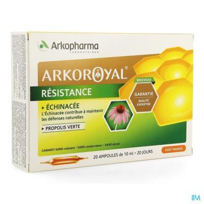 ARKOROYAL WEERSTAND ECHIN.+GR PROPOLIS AMP 20X10ML
