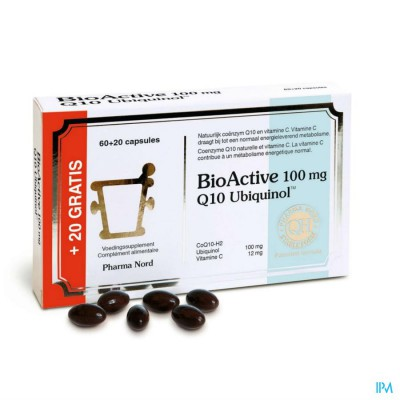 BIO ACTIVE Q10 100MG CAPS 60+20