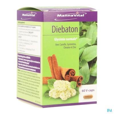 MANNAVITAL DIEBATON V-CAPS 60