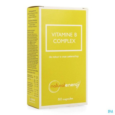 VITAMINE B COMPLEX NATURAL ENERGY CAPS 60