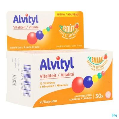 ALVITYL VITALITEIT KAUWTABL 30