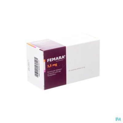 FEMARA 2,5 MG PI PHARMA FILMOMH COMP 100 PIP