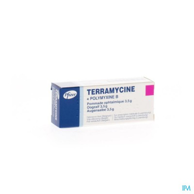TERRAMYCINE UNG OPHT 3,5 G