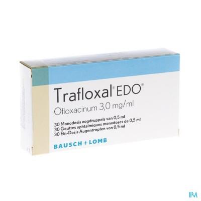 TRAFLOXAL EDO 30 X 0,5 ML UD