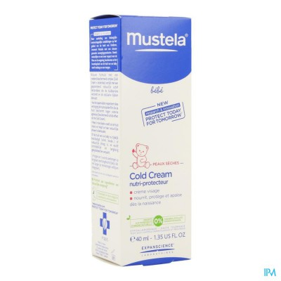 MUSTELA BB COLD CREAM GELAAT CREME NF TUBE 40ML