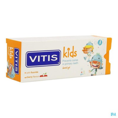 VITIS KIDS GEL TANDPASTA 50ML
