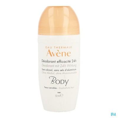 Avene Body Deodorant Doeltreffendheid 24u 50ml
