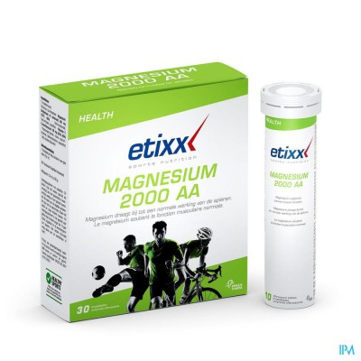 ETIXX MAGNESIUM 2000 AA BRUISTABLET 30