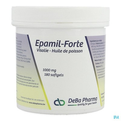 EPAMIL FORTE CAPS 180 DEBA