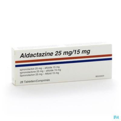 ALDACTAZINE COMP 28 X 25 MG/15 MG