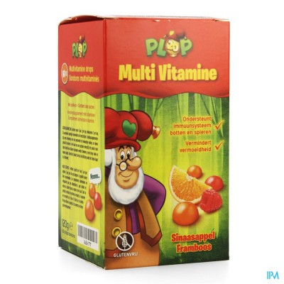 STUDIO 100 MULTIVITAMINE PLOP GUMMIES 60