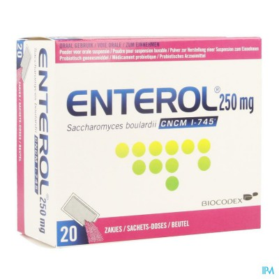 Enterol 250mg Pulv Sach 20