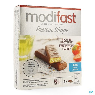 MODIFAST PROTIPLUS REEP CHOCOLADE-KOKOS 162G