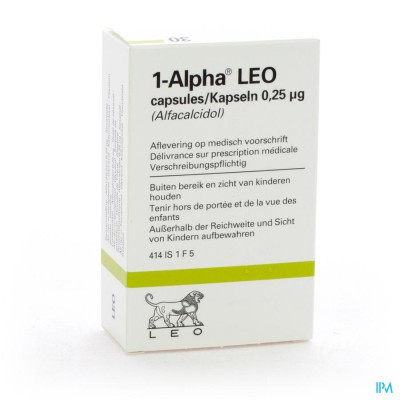 ALPHA-1 CAPS 30 X 0,25 MCG
