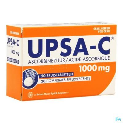 UPSA-C BRUIS 1 G TABL 20