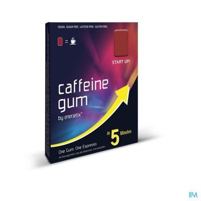 ENERJETIX CAFEINE GUM RED ENERGY 9X2,35G
