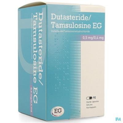 DUTASTERIDE TAMSULOSINE EG 0,5MG/0,4MG CAPS 90