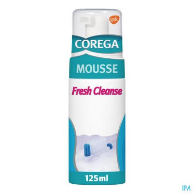 COREGA FRESH CLEANSE MOUSSE 125ML