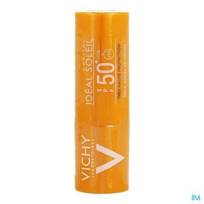 VICHY CAP SOL IP50+ STICK GEV ZONES 9G