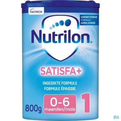 Nutrilon Satisfa+ 1 ingedikte babymelk 0-6 maanden poeder 800g