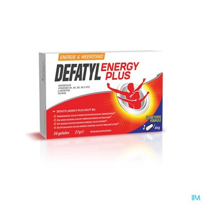 DEFATYL ENERGY PLUS CAPS 30